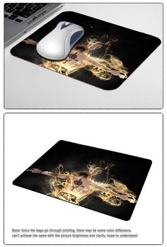 Ace Skull Fire Flame Personalized Mouse Pad Rectangle Silicone Durable Laptop PC Computer Gaming Mouse Pad  http://playertronics.com/products/ace-skull-fire-flame-personalized-mouse-pad-rectangle-silicone-durable-laptop-pc-computer-gaming-mouse-pad/