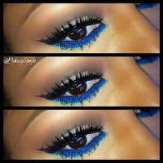 Combination of Blue and Esmerald!