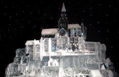 Ice Palace Sculpture