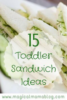 Sneak in some fruits and veggies into your toddler's meals while making your food prep easy! Check out these 15 toddler sandwich ideas! Baby Food Recipes, Gourmet Recipes, Snack Recipes, Cooking Recipes, Toddler Recipes, Detox Recipes, Cooking Ribs, Kid Recipes, Cooking Turkey