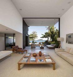 Четыре дома в Балейа (Four Houses in Baleia) в Бразилии от Studio Arthur Casas.