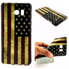 Flag of the United States TPU Soft Case for Galaxy Note 5 / Samsung S6 Edge Plus