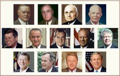 Portraits of the Presidents of the United States of America