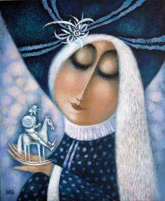 Pinzellades al món: Delicadesa femenina: il·lustracions de Vladimir Olenberg