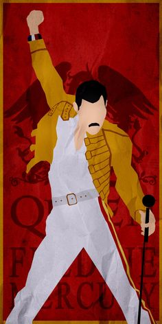 Queen/Freddie Mercury - Minimalist Poster by on DeviantArt Queen Freddie Mercury, Freddie Mercury Songs, Freddie Mercury Tattoo, Rock Posters, Band Posters, Film Posters, Queen Banda, Queen Poster, Queens Wallpaper