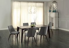 Fillmore Collection 7Pcs Dining Table & Chair Set 5048-72
