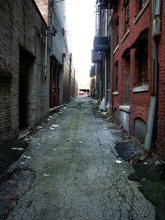 not so dark alley