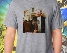 Game of Thrones / Tormund and Brienne Westeros Gothic / Men's Gray Performance T-Shirt Game of Thrones / Tormund und Brienne Westeros Gothic / Herren Grey Performance T-Shirt Gothic Men, Gothic Tops, Game Of Thrones Shirts, Game Of Thrones Fans, Tormund And Brienne, Make Money Online Surveys, Gothic Jackets, Gothic Shirts, Sneakers N Stuff