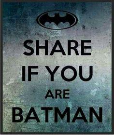 Pj is....batman