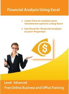 Financial Analysis Using Excel 2010 and 2007 « Blast Gifts