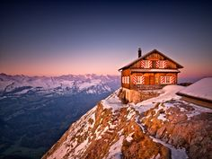 Grosser Mythen, Switzerland Swiss Switzerland, Alpine Style, Swiss Chalet, Winter Scenes, European Travel, Alps, Mount Everest, Places Ive Been, Shots