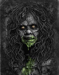Horror — The Art of Christopher Lovell Classic Horror Movies, Iconic Movies, Iconic Characters, Zombies, Horror Artwork, Arte Obscura, Horror Pictures, Horror Monsters, Horror Icons