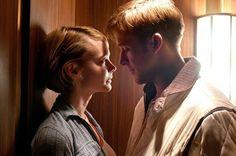 Carey Mulligan and Ryan Gosling in Drive