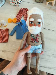 Christmas Beardy Man Interior doll Friend for traveling | Etsy Happy Christmas HAPPY CHRISTMAS | IN.PINTEREST.COM #WALLPAPER #EDUCRATSWEB