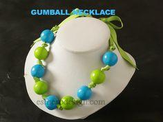 Gumball Necklace   Esther O Design