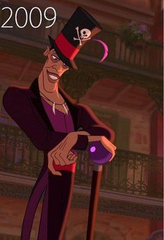 Disney Villains: Dr. Facilier, 2009