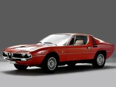 """Alfa Romeo Montreal- """"can cars be art?"""" is a question that really is not worth wondering about when looking at Alfa Romeos"""