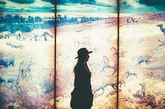Silhouette, Wide brimmed fedora, Hipster, Fashion, Style