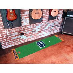 Detroit Tigers MLB Putting Green Runner (18x72)