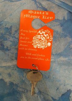 Santa's magic key... Laughingprofessor.net #professor #custom