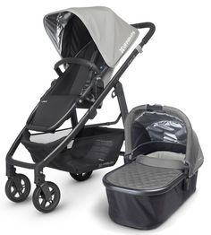 Uppababy Cruz 2015 Stroller + Bassinet Pascal