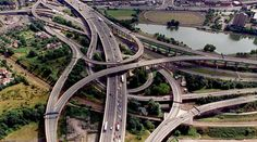 The spiralling twist of roads known as Spaghetti junction celebrates its 40th anniversary today, with the notorious landmark set to last another 100 years, according to engineers.