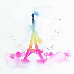Blule - Paris In Spring - is like a sunrise colours cocktail!