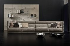 Comfort is key in this sleek space with furnishings and accessories from Floridian Furniture: https://luxesource.com/resources/floridian-furniture