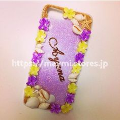 【SALE】5%OFF!!!!flower&shell case | maymi