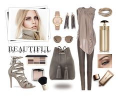 Beautiful Is My Attire by classicstyle4u on Polyvore featuring Rick Owens Lilies, Rick Owens, Schutz, Tom Ford, Chanel, Michael Kors, Cartier, Madewell, H&M and Nude by Nature