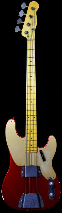 Fender Custom Precision Bass 'Candy Apple Red' Wild West Guitars