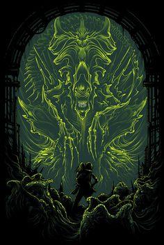 Aliens Illustrations by DAN MUMFORD