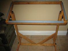 Floor Rug Hooking Frame 175 00 Via Etsy Dennis Next Project