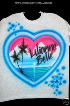 Airbrushed T Shirts