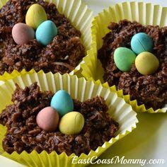 East Coast Mommy: Bird Nest Cookies