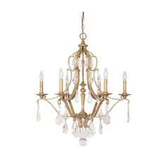 Capital Lighting Blakely Collection 6-light Antique Chandelier