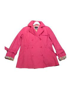 Gabardina rosa fucsia