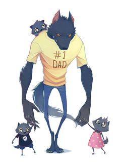Image result for werewolf dad