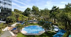 Outdoor Pool, Whirlpool, Private Cabanas and Seasonal Pool Bar with Grill at the Hilton Los Angeles/Universal City