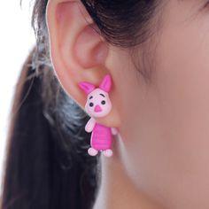 2015 Polymer clay stud earrings for women Cute animal rabbit creative earring brincos fashion jewelry  -in Stud Earrings from Jewelry on Aliexpress.com   Alibaba Group