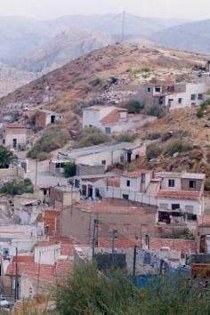 El barrio de La Tafalera en Elda.