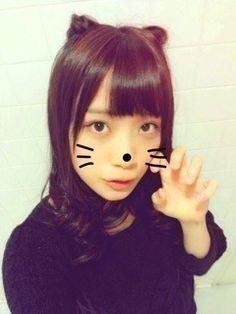 乃木坂46 (nogizaka46) fukagawa mai the halloween cat ^o^ ♥ ♥ ♥ ♥ ♥