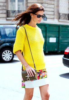 16 Outfits That Make Us Want To Wear More Color via @WhoWhatWear
