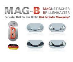 MAG-B magnetischer Brillenhalter (magnetische Brillenhalter aus Edelstahl)