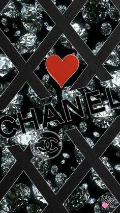 Black Wallpaper Iphone, Heart Wallpaper, Pink Wallpaper, Colorful Wallpaper, Chanel Wallpapers, Cute Wallpapers, Logo Background, Planner Template, Wallpaper Downloads