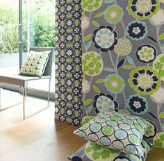 For an up-beat, bold look use Indigo Night with crisp whites, vibrant Spring greens, reds and purples. These striking colour combinations are perfect for modern and contemporary styled homes.