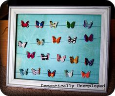 *Domestically Unemployed*: Butterfly Frame
