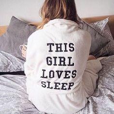 Pajamas: nightwear funny sleep robe quote on it black and white