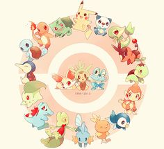 All #Pokemon Starter <3 Bulbasaur <3 Charmander <3 Squirtle <3 Chikorita <3 Cyndaquil	 <3 Totodile <3 Treecko <3 Torchic <3 Mudkip <3 Turtwig <3 Chimchar <3 Piplup <3 Snivy <3 Tepig <3 Oshawot <3 Chespin <3 Fennekin <3 Froakie <3