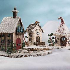 DIY and Crafts: Fairy Garden Snow Village